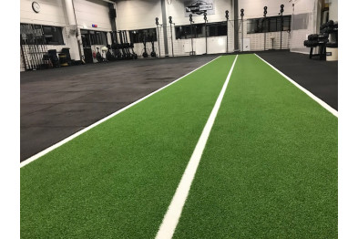 Artificial grass with lines