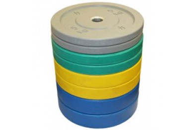 Coloured Riot Bumper Plates 100 kg