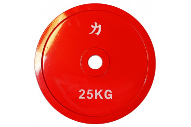 Olympic Extra Thin Competition Style Steel Plate 25kg
