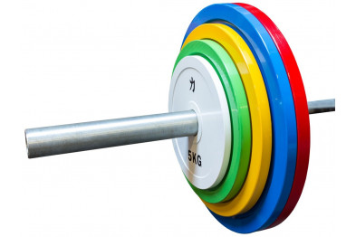 Olympic Extra Thin Competition Style Steel Plate Set 150kg
