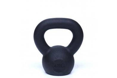 Kettlebell 4 kg - Black Powder Coated