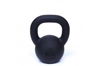 Kettlebell 8 kg - Black Powder Coated