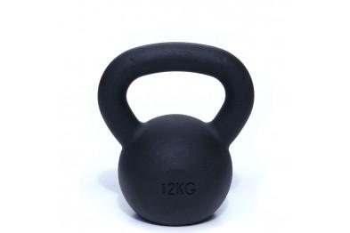 Kettlebell 12 kg - Black Powder Coated