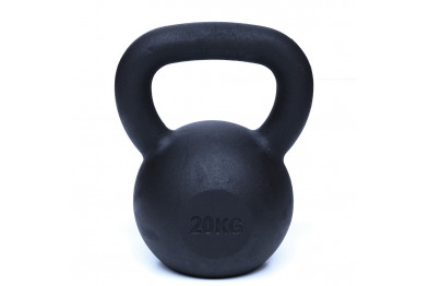 Kettlebell 20 kg - Black Powder Coated