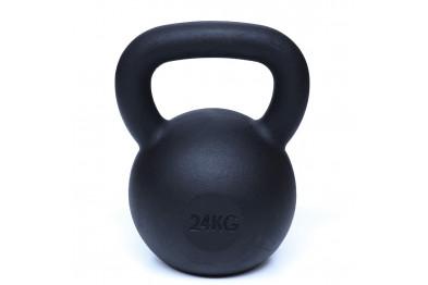 Kettlebell 24 kg - Black Powder Coated -