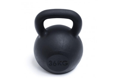 Kettlebell 36 kg - Black Powder Coated