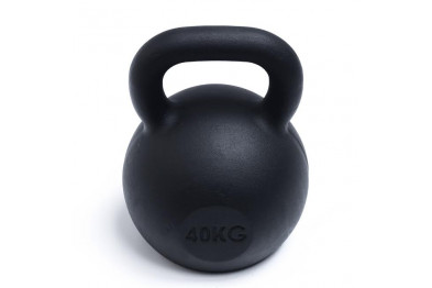 Kettlebell 40 kg - Black Powder Coated