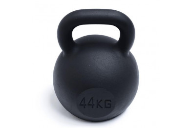 Kettlebell 44 kg - Black Powder Coated