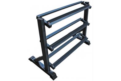 Hex dumbell rack