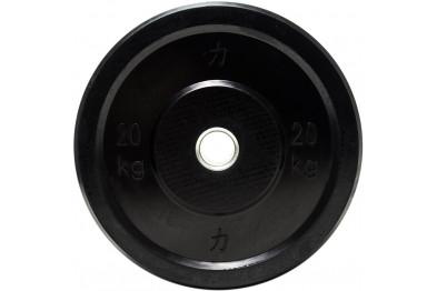 Bumper Plate 20 kg - Black