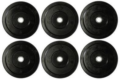 100 kg Mixed Set - Bumper + Cast Iron