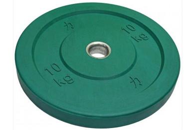 Green Riot Bumper Plate 10 kg