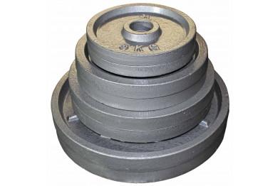 100 kg Cast Iron Plate Set