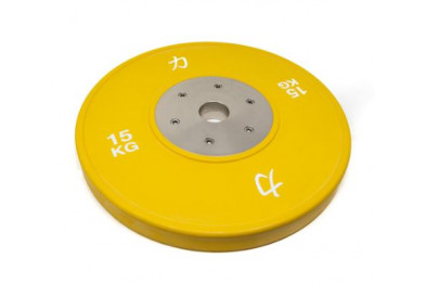 Competition Olympic Weights, Green - 15 kg