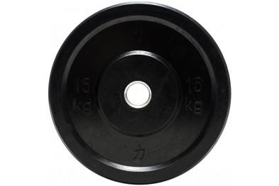 Bumper Plate 15 kg - Black