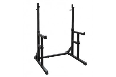 Squatstand with safety bars