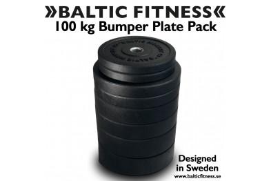100 kg Bumper Set - Baltic Fitness