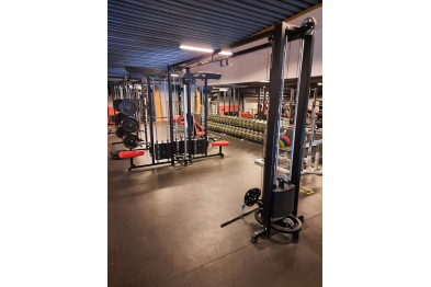 Cable-cross and latt unit fromNordic Gym