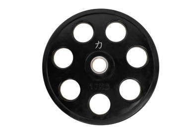 Rubber Coated Full Size Olympic Plate - 10 kg
