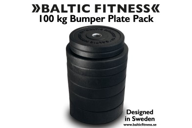 100 kg Bumper Set - Baltic Fitness