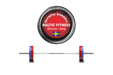 Olympic Barbell 20 Kg from Baltic Fitness