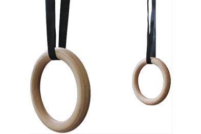 Gymnastic Rings - Wood