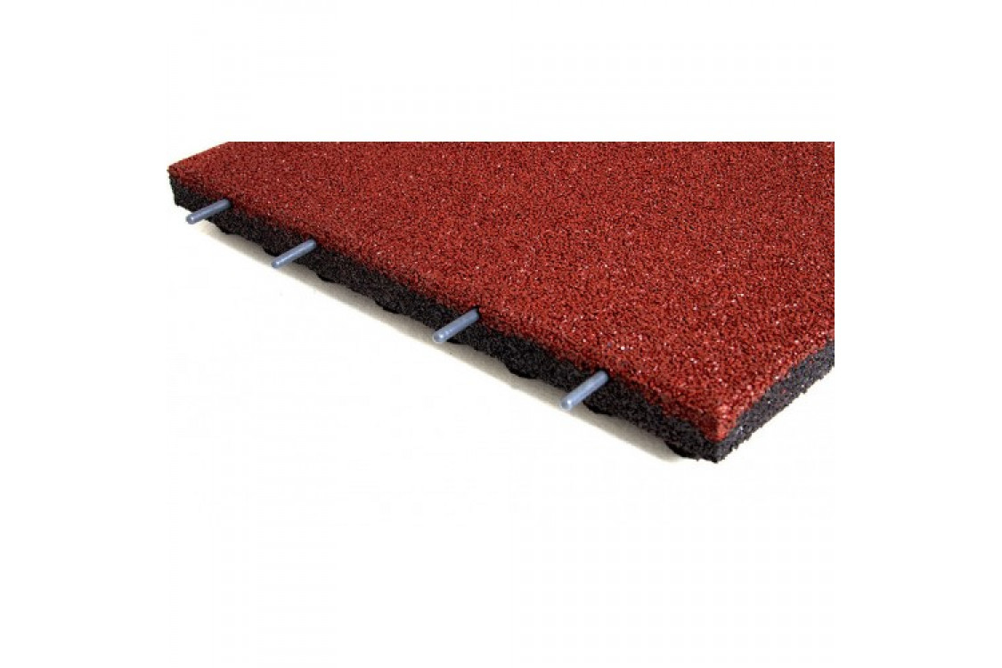 Standard Safety Rubber Tiles 500 x 500MM