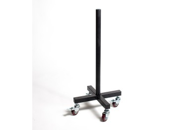 Vertical Plate Storage on Wheels