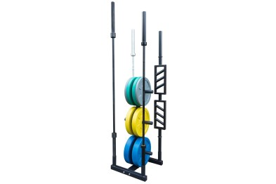 Bumper Plate Tree, with 4 Bar Holders