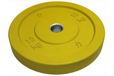 Yellow Riot Bumper Plate 15 kg
