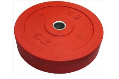 Red Riot Bumper Plate 25 kg