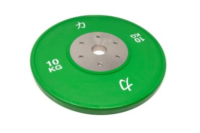 Competition Olympic Weights, Green - 10 kg