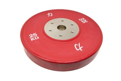 Competition Olympic Weights, Red - 25 kg