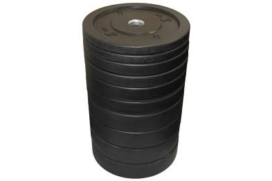 Riot Bumper Plate, 150 kg Set