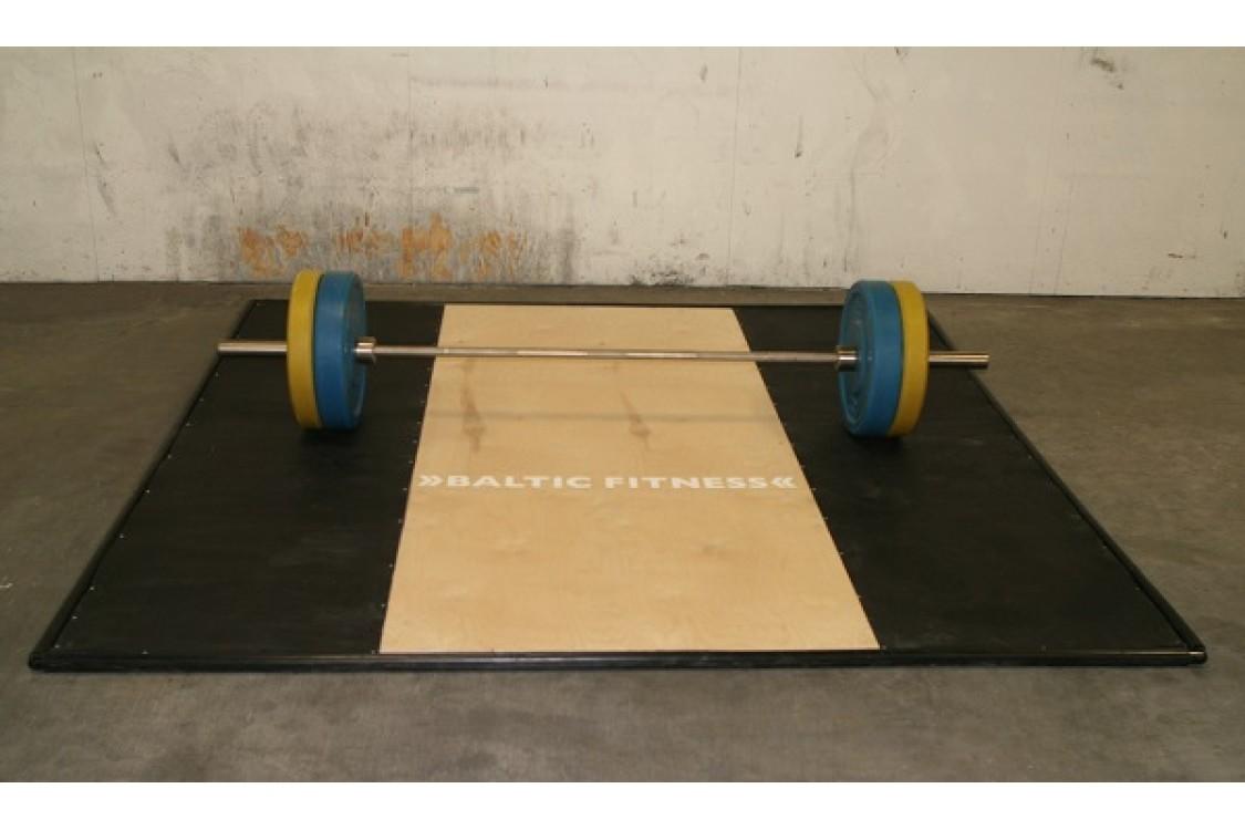 Lifting platform 3x3 metres - 30 mm