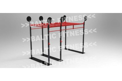 Outdoorgym with monkeybar - 4 meters