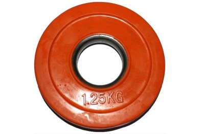 Rubber Coated Plate 1.25 kg - Orange