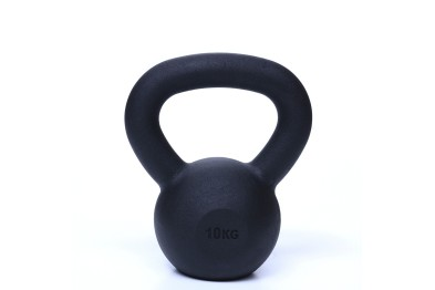 Kettlebell 10 kg Black Powder Coated
