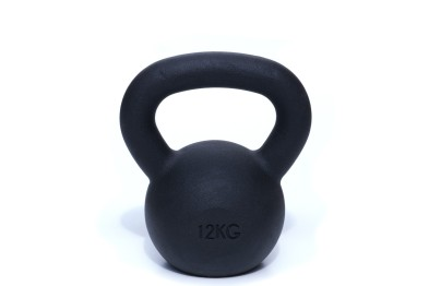 Kettlebell 12 kg - Black Powder Coated