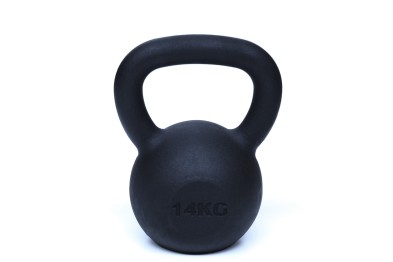 Kettlebell 14 kg Black Powder Coated