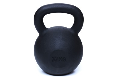 Kettlebell 32 kg  - Black Powder Coated