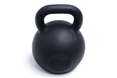 Kettlebell 48 kg- Black Powder Coated