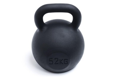 Kettlebell 52 kg - Black Powder Coated